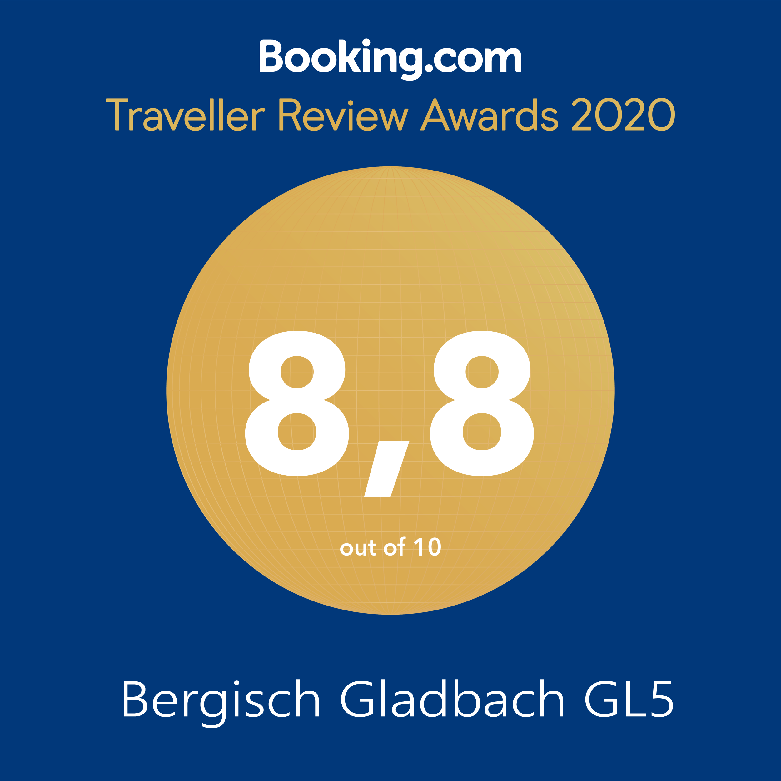 Booking.vom Award 2020 GL5
