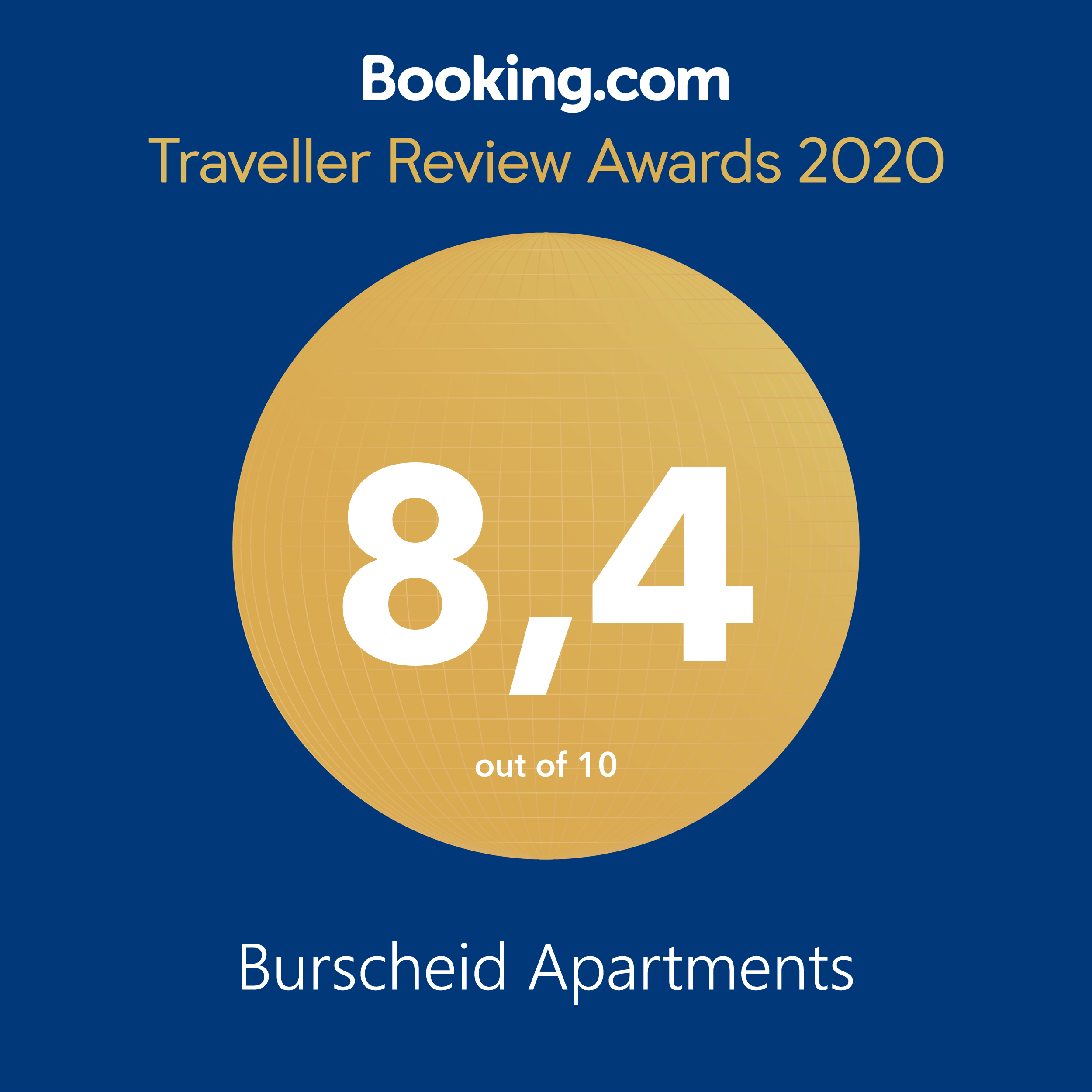 Booking.com Award 2020 Burscheid-1