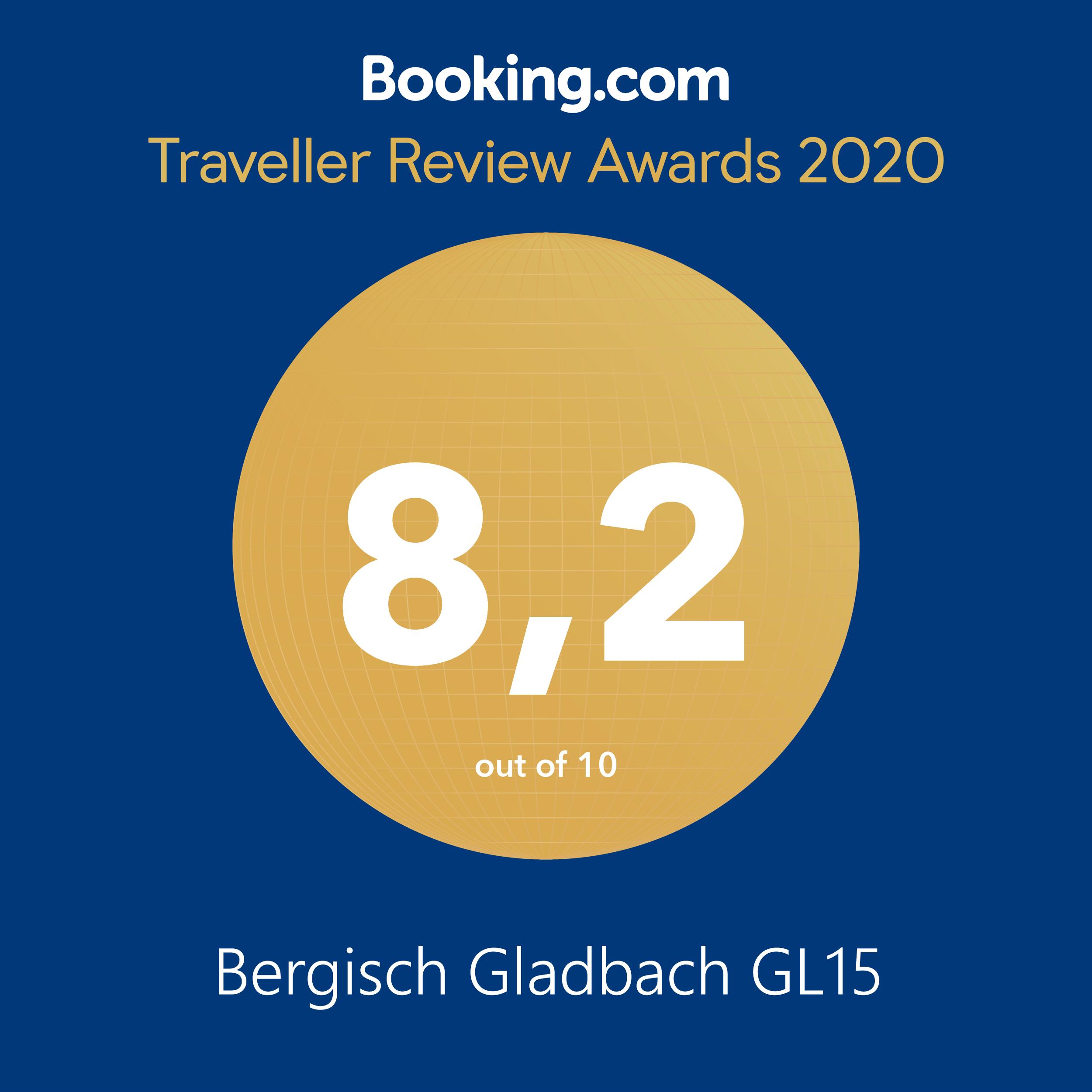 Booking.vom Award 2020 GL15