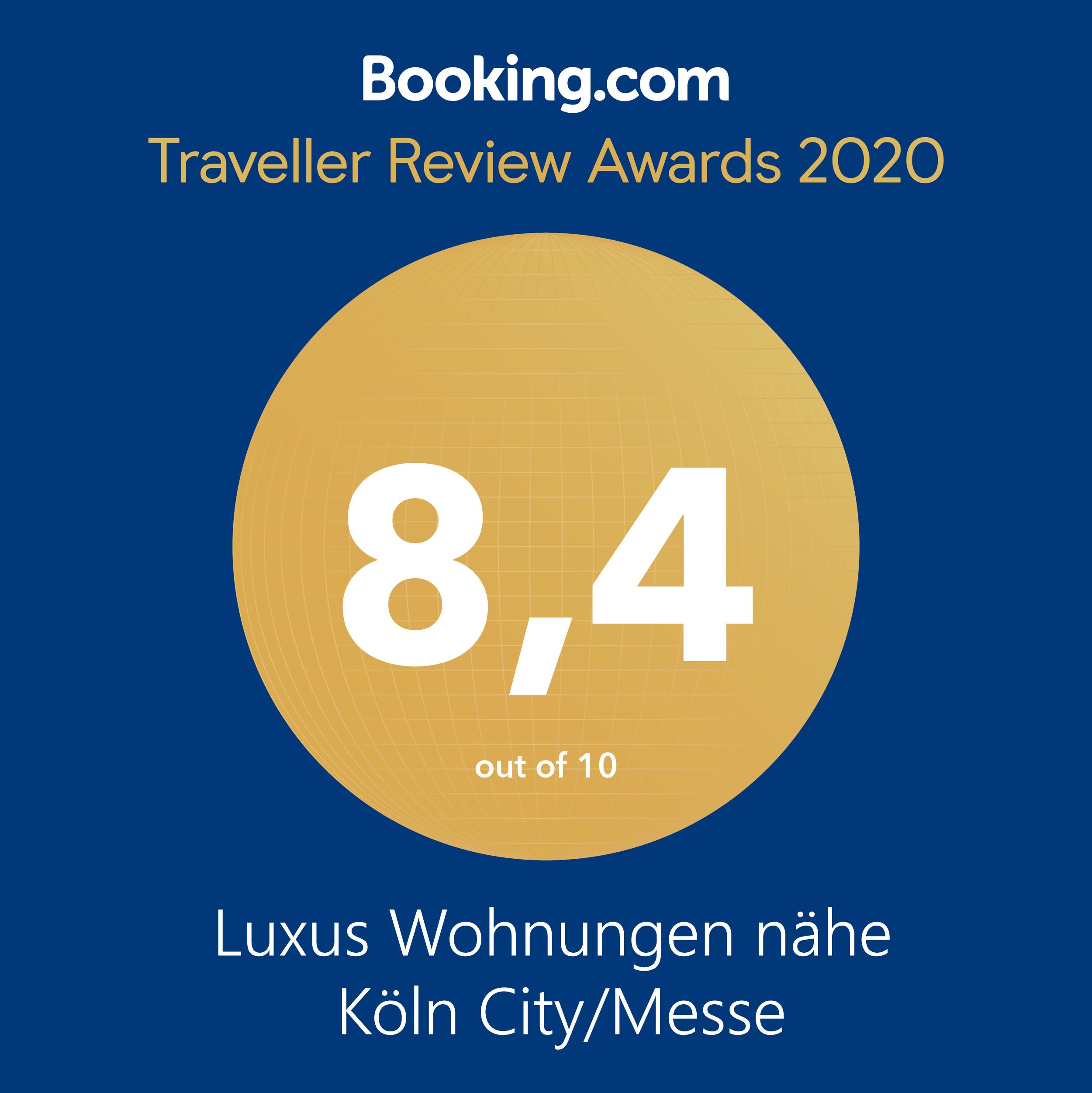 Booking.com Award 2020 BGL-11